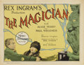 "Movie Posters:Fantasy, The Magician (MGM, 1926). Title Lobby Card (11"" X 14"")...."