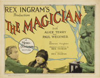 """The Magician (MGM, 1926). Title Lobby Card (11"""" X 14"""")"""