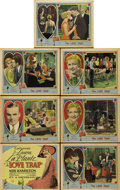 "Movie Posters:Comedy, The Love Trap (Universal, 1929). Title Card and Lobby Cards (6)(11"" X 14"").... (Total: 7 Items)"