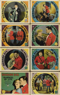 """Movie Posters:Drama, The Wheel of Life (Paramount, 1929). Lobby Card Set of 8 (11"""" X14"""").... (Total: 8 Items)"""