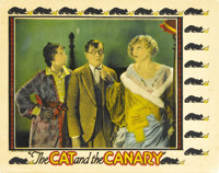 """The Cat and the Canary (Universal, 1927). Lobby Card (11"""" X 14"""")"""