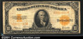 Large Size Gold Certificates:Large Size, 1922 $10 Gold Certificate, Fr-1173, Fine. A pleasing example wi...