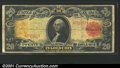Large Size Gold Certificates:Large Size, 1905 $20 Gold Certificate, Fr-1180, Fine. A pleasing circulated...