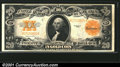 Large Size Gold Certificates:Large Size, 1922 $20 Gold Certificate, Fr-1187, XF-AU. A bright, crisp exam...