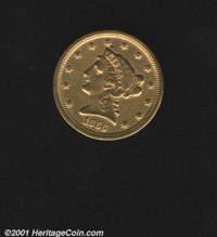 1866 $2 1/2 VF 20 Cleaned. Medallic Alignment. Well struck with even wear and no harsh contact marks from circulation. T...