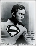 Autographs, Kirk Alyn--Superman
