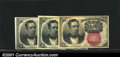 Fractional Currency:Fifth Issue, A trio of Fractionals, all 1874-1876 10c Fifth Issue, Meredith,...