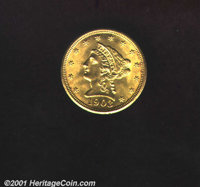 1903 $2 1/2 MS 64. Most of the grade limiting contact marks are limited to the reverse of this satiny and lustrous coin...