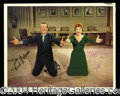 Autographs, Fred Astaire & Janis Page