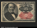 Fractional Currency:Fifth Issue, 1874-1876 25c Fifth Issue, Walker, Fr-1309, Choice AU. You may ...