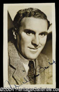 Autographs, William Bendix