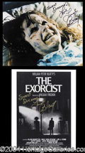 Autographs, Linda Blair--Exorcist Set