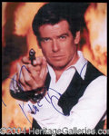 Autographs, Pierce Brosnan