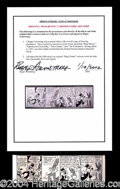Autographs, Bugs Bunny (Roger Armstrong)