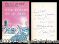 Autographs, Billie Burke