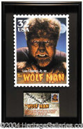 Autographs, Lon Chaney Jr.: The Wolfman!