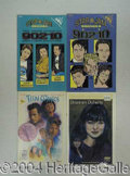 Autographs, Lot of Nine Beverly Hills, 90210 Comic Books