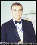 Autographs, Sean Connery