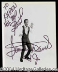 Autographs, Sammy Davis, Jr.