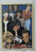Autographs, Lot of Eight 90210 Posters