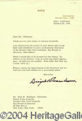 Autographs, DWIGHT D EISENHOWER