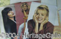 Autographs, 90210 Posters - the Gals
