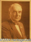 Autographs, WARREN HARDING