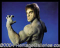 Autographs, Lou Ferrigno: The Incredible Lot!