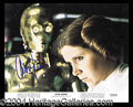 Autographs, Carrie Fisher