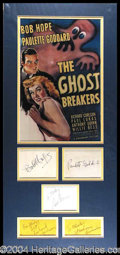 Autographs, The Ghost Breakers