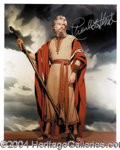 Autographs, Charlton Heston--Legendary Roles