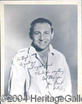 Autographs, NICK ADAMS