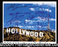Autographs, Hollywood Superstars!