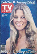 Autographs, Bionic Woman in Print, on Record Lot