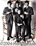 Autographs, THE BEATLES AND ELVIS PRESLEY