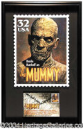 Autographs, Boris Karloff: The Mummy!