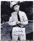 Autographs, Don Knotts