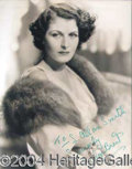 Autographs, EVELYN BRENT