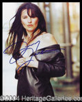 Autographs, Lucy Lawless
