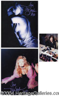 Autographs, Traci Lords Lot of Five