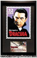 Autographs, Bela Lugosi as Dracula!