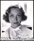 Autographs, JOAN CRAWFORD