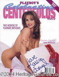 Autographs, Karen McDougal