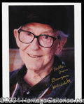 Autographs, Burgess Meredith