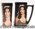 Autographs, Lot of Charlie's Angels Cups & Tumblers