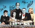 Autographs, The Munsters