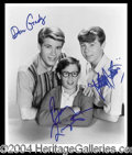 Autographs, My Three Sons