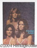 Autographs, Groovy Charlie's Angels Iron-ons