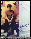 Autographs, Daniel Radcliffe (Harry Potter)