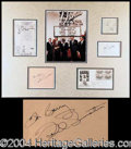 Autographs, The Rat Pack